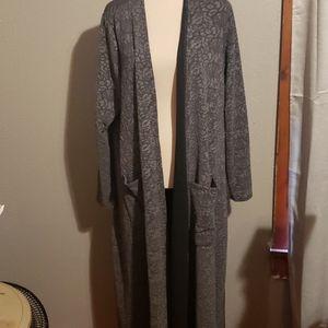 Gray lace Sarah Cardigan